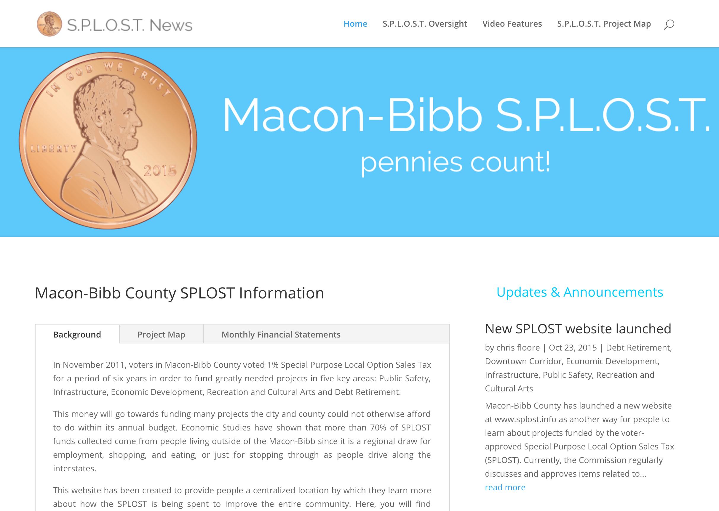 Macon Bibb Splost